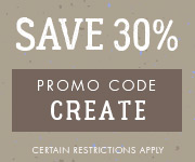 Save with promo code CREATE